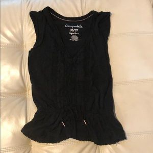 Aeropostale black lace top